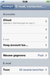 Apple iPhone 4 met iOS 5 - E-mail - Handmatig instellen - Stap 10