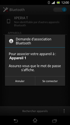 Sony LT30p Xperia T - Bluetooth - connexion Bluetooth - Étape 9
