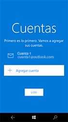 Microsoft Lumia 950 - E-mail - Configurar Outlook.com - Paso 15