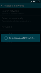 Samsung G900F Galaxy S5 - Network - Manually select a network - Step 11