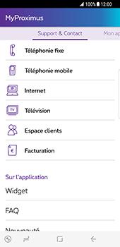 Samsung Galaxy S8 - Applications - MyProximus - Étape 19