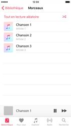 Apple iPhone 7 - Photos, vidéos, musique - Ecouter de la musique - Étape 5