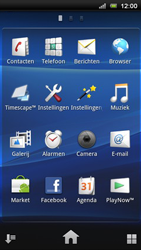 Sony Ericsson Xperia Play - Internet - Aan- of uitzetten - Stap 3