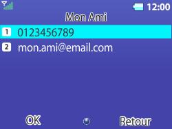 Bouygues Telecom Bc 311 - Contact, Appels, SMS/MMS - Envoyer un SMS - Étape 10