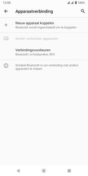 Sony xperia-xz3-dual-sim-model-h9438 - Bluetooth - Aanzetten - Stap 4