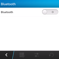 BlackBerry Q5 - Bluetooth - connexion Bluetooth - Étape 8