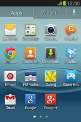 Samsung S6310 Galaxy Young - SMS - Handmatig instellen - Stap 3