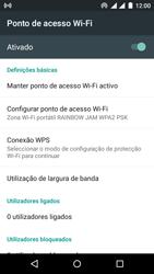 Wiko Rainbow Jam DS - Internet no telemóvel - Como partilhar os dados móveis -  11