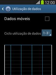 Samsung Galaxy Pocket Neo - Internet no telemóvel - Como ativar os dados móveis -  5