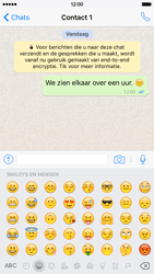 Apple iPhone 6 iOS 9 - WhatsApp - Verstuur een tekstbericht met WhatsApp - Stap 11