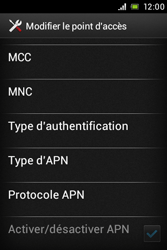 Sony C1505 Xperia E - MMS - configuration manuelle - Étape 15