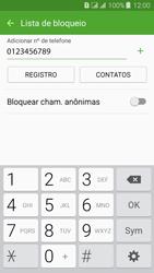 Samsung Galaxy J3 Duos - Chamadas - Como bloquear chamadas de um número específico - Etapa 11