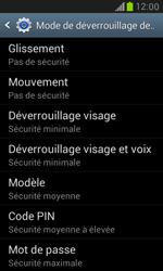 Samsung Galaxy S3 Mini - Sécuriser votre mobile - Activer le code de verrouillage - Étape 6
