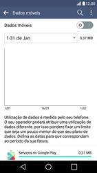LG K10 4G - Internet no telemóvel - Como ativar os dados móveis -  5