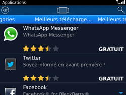 BlackBerry 9320 - Applications - Télécharger une application - Étape 7
