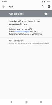 Sony Xperia XZ3 - Wifi - handmatig instellen - Stap 5