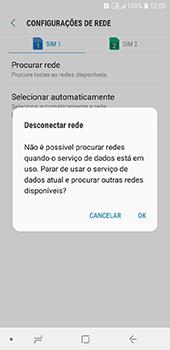 Samsung Galaxy J6 - Rede móvel - Como selecionar o tipo de rede adequada - Etapa 9