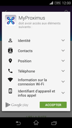 Sony D2203 Xperia E3 - Applications - MyProximus - Étape 9