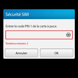 BlackBerry Q10 - Premiers pas - Créer un compte - Étape 4