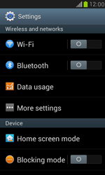 Samsung I8190 Galaxy S III Mini - WiFi and Bluetooth - Setup Blue Tooth Pairing - Step 4