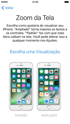 Apple iPhone 7 - iOS 10 - Primeiros passos - Como ativar seu aparelho - Etapa 24