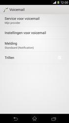 Sony D2303 Xperia M2 - Voicemail - handmatig instellen - Stap 6