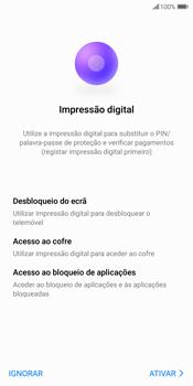 Huawei P Smart - Primeiros passos - Como ligar o telemóvel pela primeira vez -  17