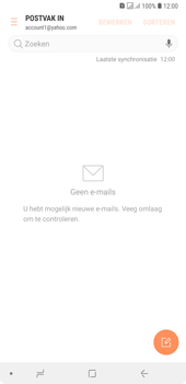 Samsung Galaxy A7 (2018) - E-mail - e-mail instellen (yahoo) - Stap 11