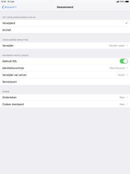 Apple ipad-air-10-5-inch-2019-model-a2123 - E-mail - Account instellen (POP3 zonder SMTP-verificatie) - Stap 22