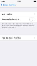 Apple iPhone 5s iOS 10 - Internet - Configurar Internet - Paso 6
