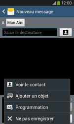 Samsung Galaxy Ace 3 - Contact, Appels, SMS/MMS - Envoyer un MMS - Étape 10