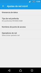 Sony Xperia Z5 Compact - Red - Seleccionar el tipo de red - Paso 6