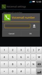 Alcatel OT-7041X Pop C7 - Voicemail - Manual configuration - Step 10