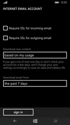 Nokia Lumia 735 - Email - Manual configuration POP3 with SMTP verification - Step 20