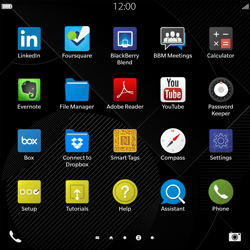 BlackBerry Passport - Email - Manual configuration - Step 3