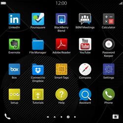 BlackBerry Passport - Network - Usage across the border - Step 3
