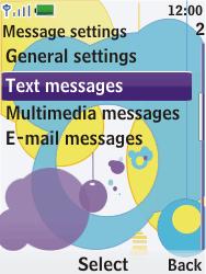 Nokia 7310 supernova - SMS - Manual configuration - Step 5