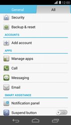 Huawei Ascend P7 - Voicemail - Manual configuration - Step 4