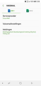 Samsung Galaxy A6 - Voicemail - handmatig instellen - Stap 8
