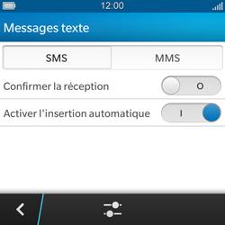 BlackBerry Q5 - MMS - configuration manuelle - Étape 7