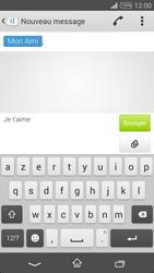 Sony Xpéria T3 - Contact, Appels, SMS/MMS - Envoyer un SMS - Étape 8