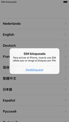 Apple iPhone 6s - iOS 11 - Primeros pasos - Activar el equipo - Paso 4