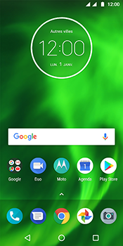Motorola Moto G6 - Applications - Supprimer une application - Étape 1