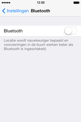 Apple iPhone 4S met iOS 8 (Model A1387) - Bluetooth - Aanzetten - Stap 3