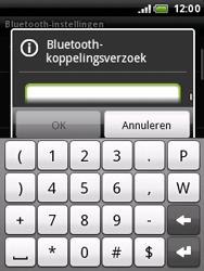 HTC A3333 Wildfire - Bluetooth - headset, carkit verbinding - Stap 8