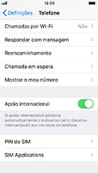 Apple iPhone 5s - iOS 12 - Segurança - Como ativar o código PIN do cartão de telemóvel -  4