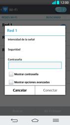 LG G2 - WiFi - Conectarse a una red WiFi - Paso 8