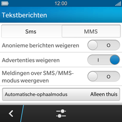 BlackBerry Q5 - MMS - probleem met ontvangen - Stap 10