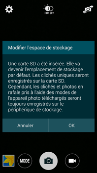 Samsung Galaxy Note 4 - Photos, vidéos, musique - Créer une vidéo - Étape 4