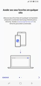 Samsung Galaxy S8 - Internet no telemóvel - Como configurar ligação à internet -  22